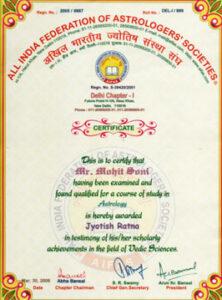 Best Certified Astrologer